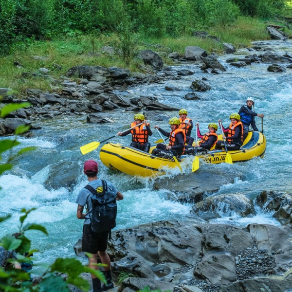 Rafting tour on Cheremosh river / 1 day