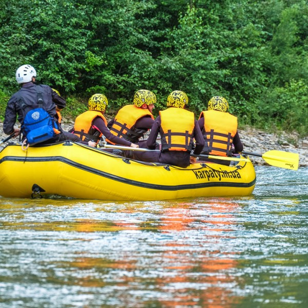 Rafting tour on Cheremosh river / 3 days
